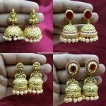 8 Stunning Imitation Antique Jhumkas