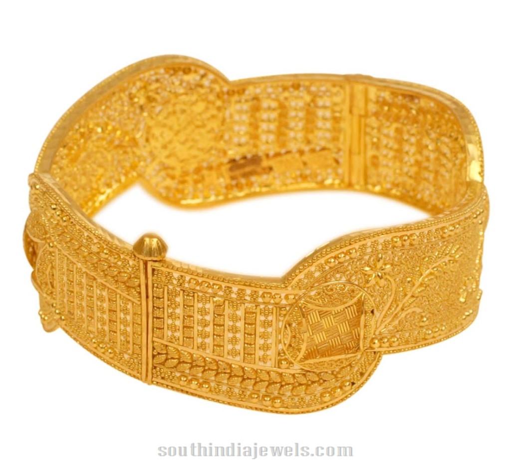 Latest Kerala Gold Bangle Design