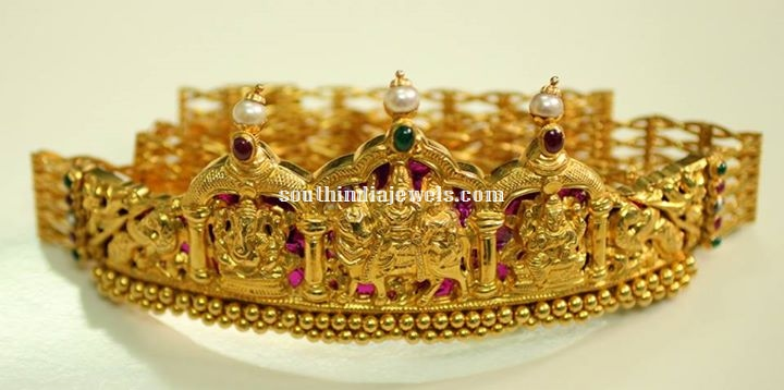 Temple Jewellery Waist Belt Design
