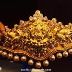 120 Grams Antique Gold Waist Belt
