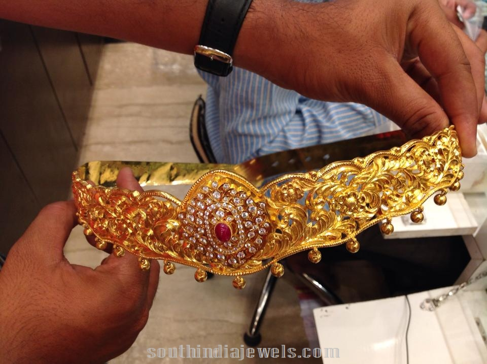 180 Grams Gold Waist Belt Designs
