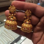 20 Grams Gold Antique Jhumka