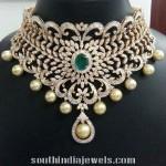 Heavy Bridal Diamond Choker Necklace