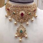 CZ Stone Choker Necklace
