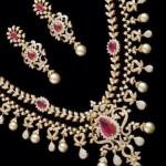 Double Layer Diamond Necklace