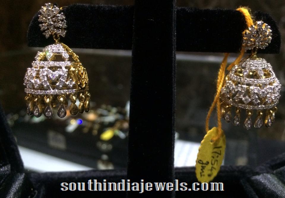 Diamond Jhumka latest model