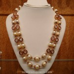 Double Layer Gold Pearl Mala