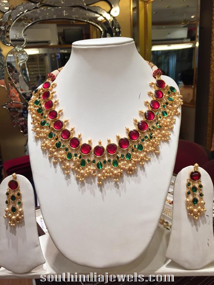 Latest guttapusalu necklace design