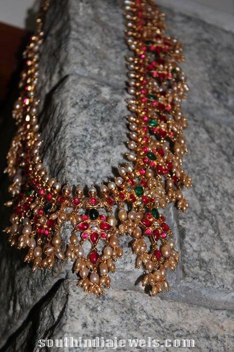 Ruby-Emerald-Guttapusalu-Necklace-from-silver-shine-jewellery-28000