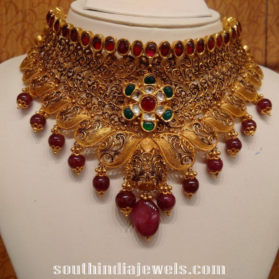 antique choker necklace from NAJ