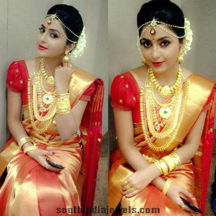 Wedding Hairstyle For Kerala Bride: Kerala Wedding Jewelleries