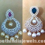Diamond Chandbali Earrings Designs