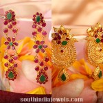 Latest Gold Earring Designs From Kalyan Jewellers