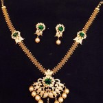 Attigai Style Gold Necklace