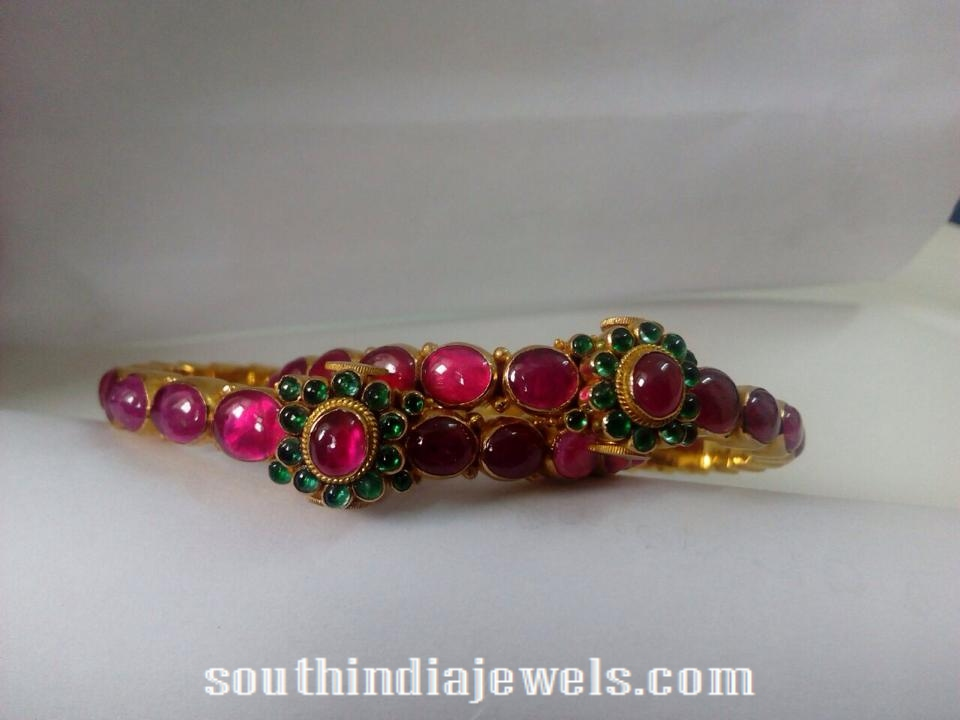 Ruby Emerald Bangle latst model