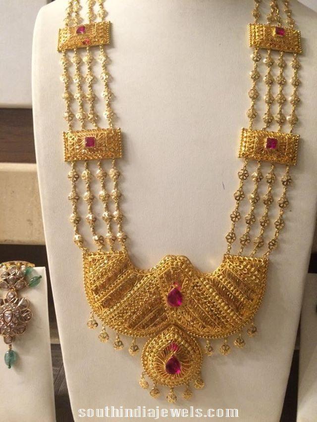 110-gram-huge-multilayer-gold-necklace