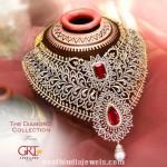 Bridal Diamond Choker Necklace From GRT