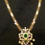 22K Gold Polki Necklace