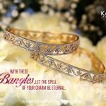 Classic Diamond Bangles from Kalyan Jewellers
