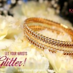 Diamond Bangles Models from GRT Jewellers