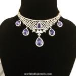 Diamond Choker Necklace from Parnicaa