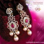 Diamond Earrings From GRT jewellers