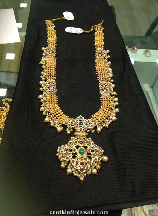 Gold Long Haram Latest model