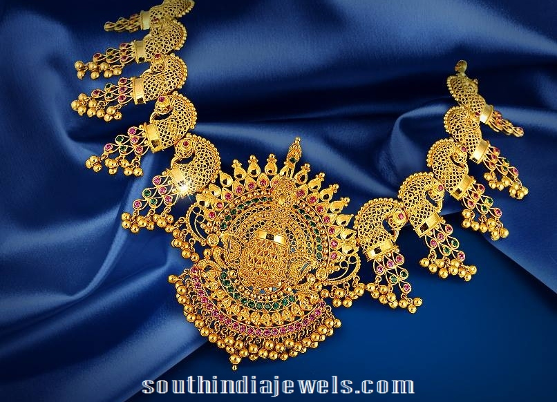 Gold Necklace Design from Jos Alukkas Jewellery
