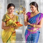 Kajal Agarwal in Gold Jewelleries