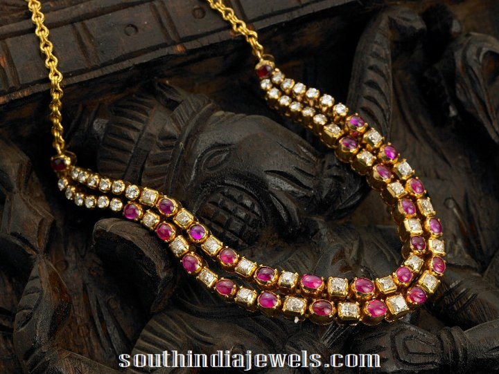 yer Ruby Polki Necklace from Arnav Jewellers
