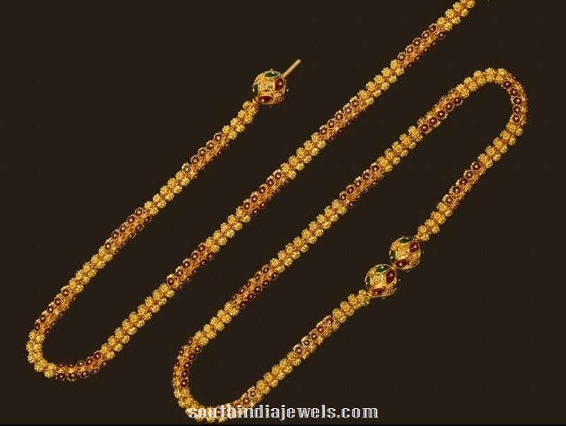 Gold Fancy Anglet design from VBJ
