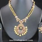 Antique CZ Stone Necklace Design