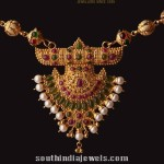 22K Gold Necklace From Abharan