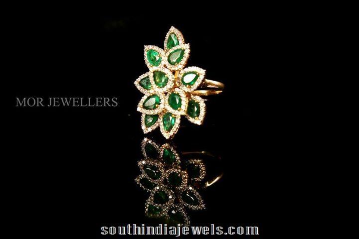Diamond emerald ring designs