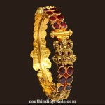 Gold Antique Lakshmi Bangle from VBJ