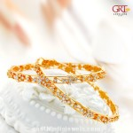 Gold Bangle Design From GRT Jewellers