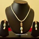 14k Gold Designer Necklace