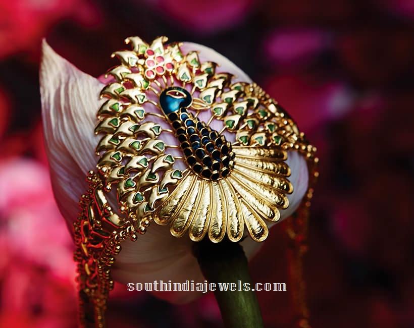 22k gold bracelet designs from Tanishq