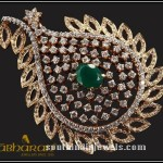 22K Gold Brooch From Abharan Jewellers