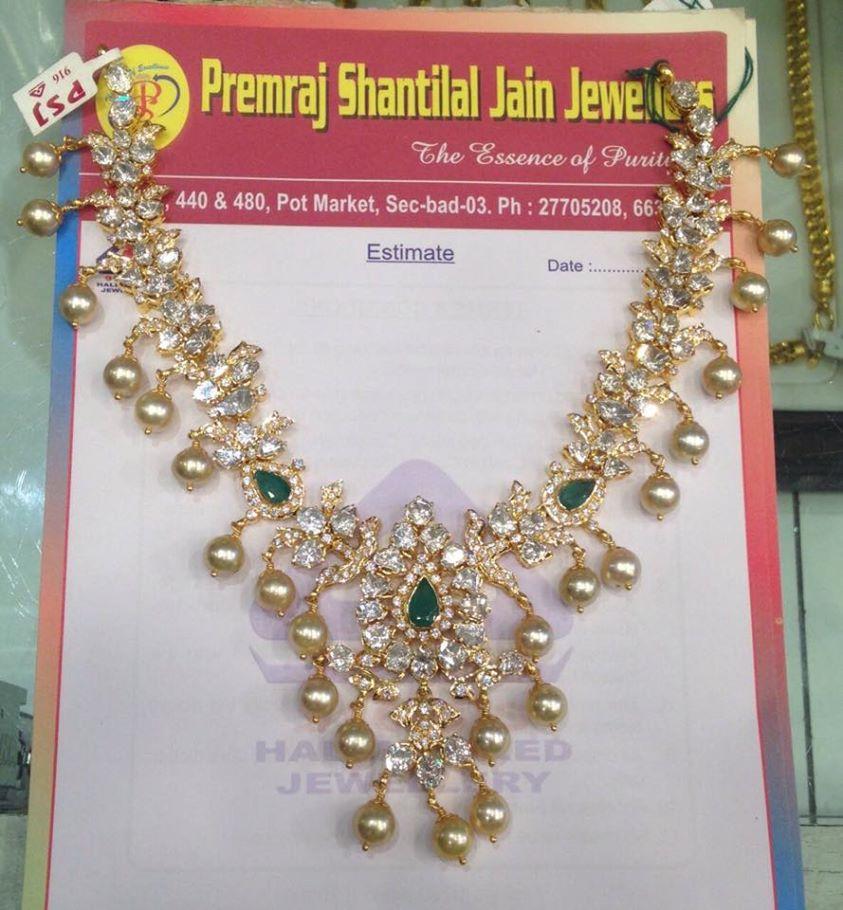 74 Grams Pachi Emerald Necklace Set