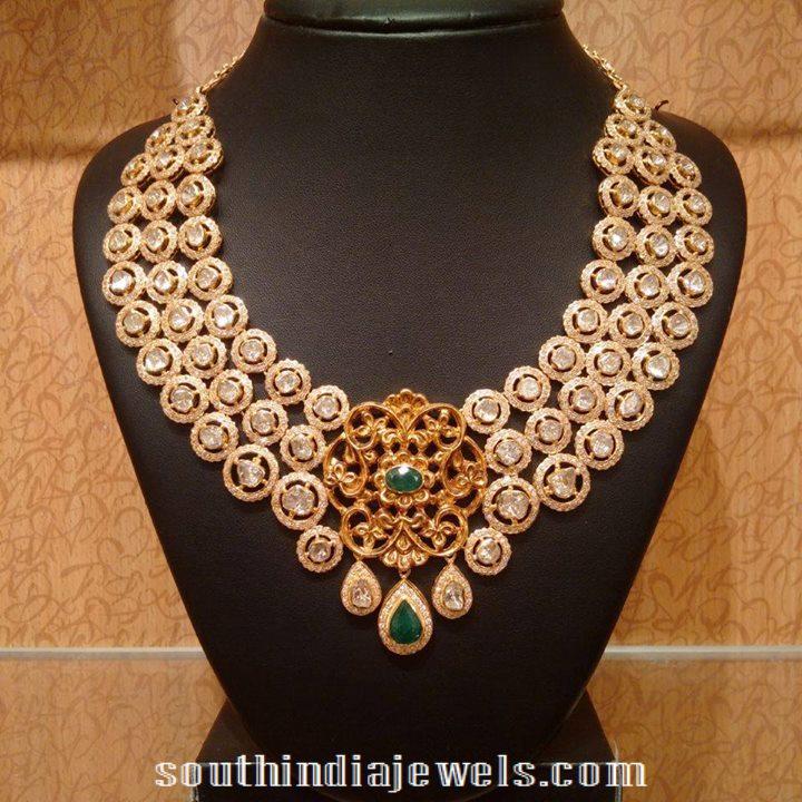 Designer bridal necklace from NAJ