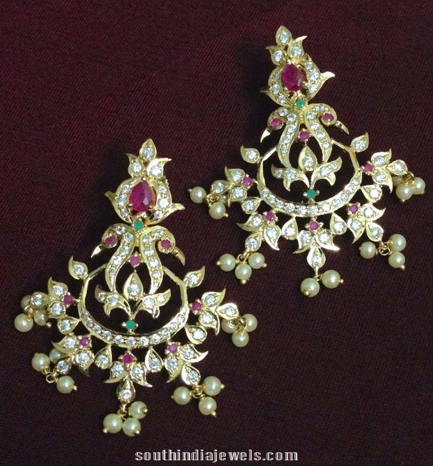 Imitation CZ Stone earrings design