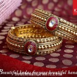 Kalyan Jeweller's Gold Antique Bangle Model