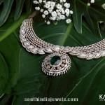 Stunning Diamond Necklace From Kalyan Jewellers