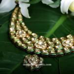 Kundan Necklace From Kalyan Jewellers