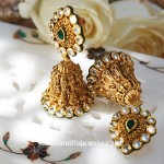 Gold Jhumka From Tanishq
