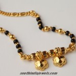 Latest Gold Mangalsutra Design