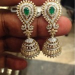Latest Diamond Jhumka Model