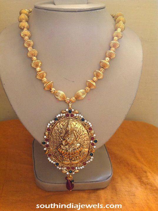 Temple Jewellery stone necklace