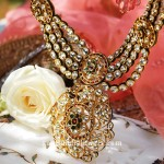 Latest Kundan Necklace Design from Tanishq